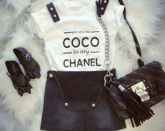 You are The Coco to my Chanel kids Tshirt