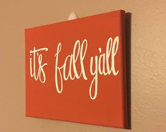 Its fall yall decor
