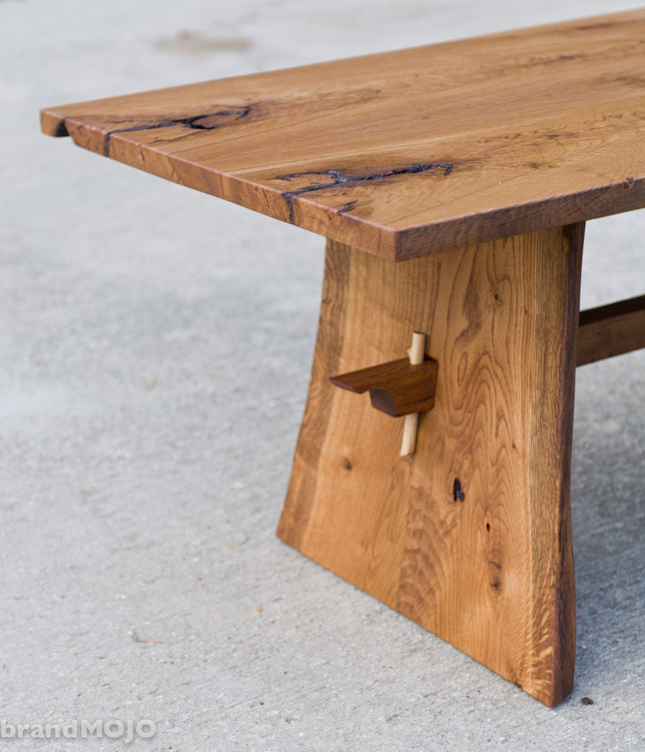 Best Finish For Live Edge Coffee Table: Live Edge Coffee Table Reclaimed Hardwoods Asian Inspired
