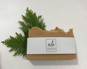 Handmade Holiday Bar Soap-Gingersnap