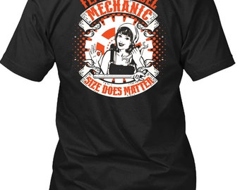 Female Diesel Mechanic T Shirt, Being A Mechanic T Shirt