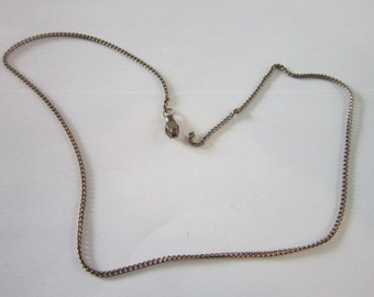 "16"" Steel Chain Necklace"