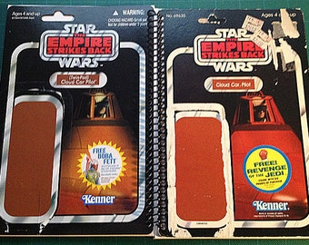 Star Wars Cloud Car Pilot Recycled Vintage/Vintage style Star Wars ESB Notebook