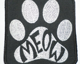 Iron-On Patch -MEOW