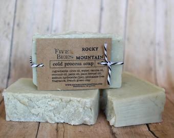 Rocky Mountain - Cold Process Soap