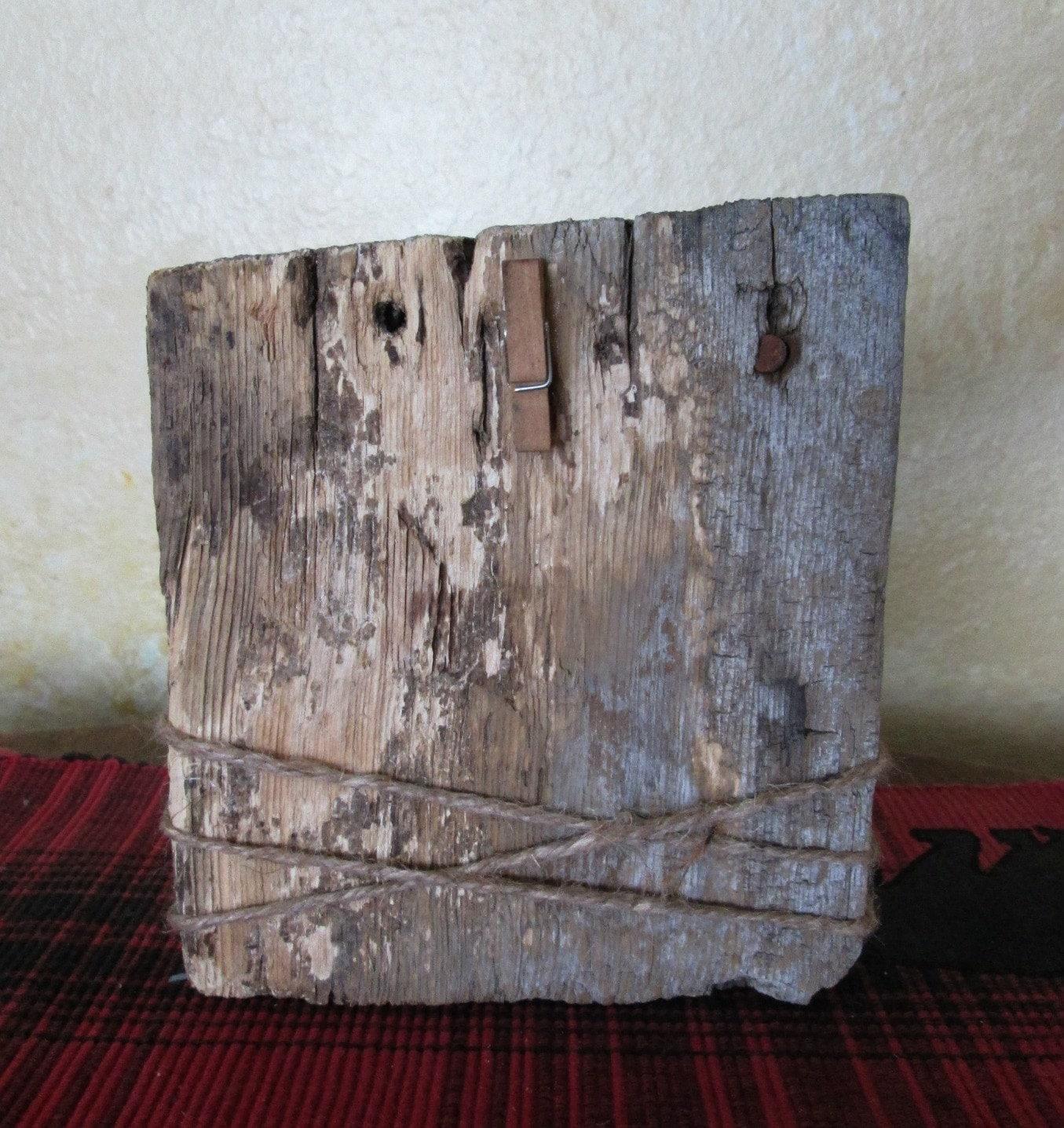 Cuadro rústico marco - granero marco de madera - marco de bloque de ...