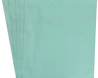 """10x13""""Teal FLAT POLY MAILERS; Approved Shipping Mailers,  (100 Pack)"""