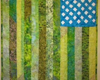 Field of Dreams Art Quilt