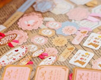 Rabbit Stickers, Cute Sticker, Deco Sticker, Korean Sticker, Scrapbook