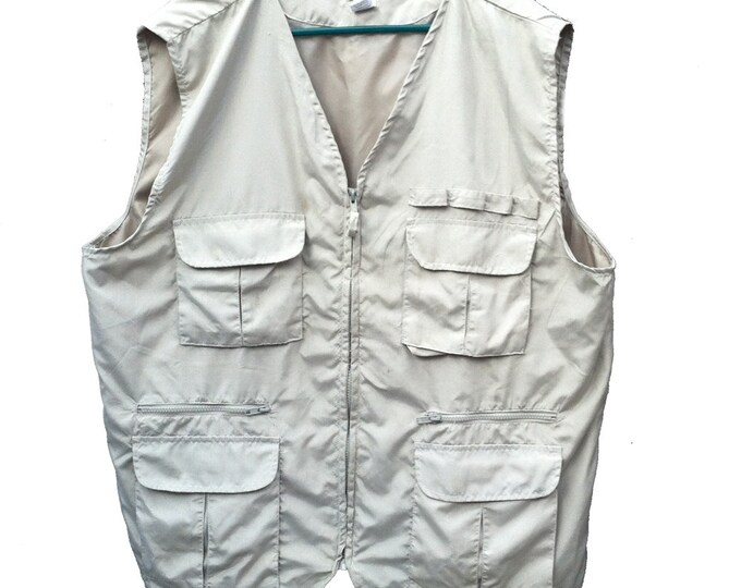 Men's XL Haband Travelers Utility Vest
