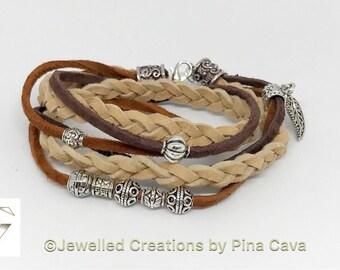 Wraparound Suede Bracelet