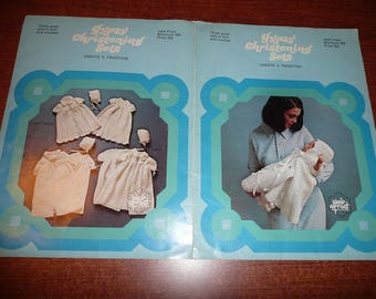 Vintage Gypsy Christening Sets Brochure Patterns