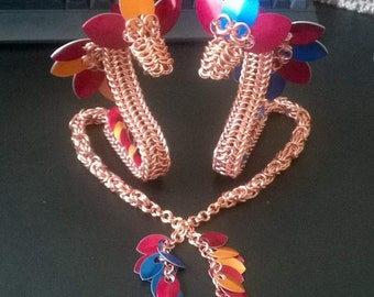 Fire Dragon Chainmaille - do it yourself kit