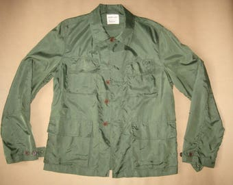 Helmut Lang #  oliv army nylon jacket '96 # mint cond # size M/ 48 EU