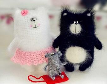 Crochet cat PATTERN amigurumi pattern crochet cat toy pattern crochet pattern pdf pattern crochet pattern crochet amigurumi cat stuffed toy