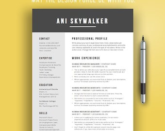 creative resume template creative cv design for word simple resume template design instant - Mac Pages Resume Templates