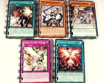 25 Upcycled Yu Gi Oh Cards - Yu Gi Oh Party Favors - Yu Gi Oh Favors - Yu Gi Oh Birthday Party - Recycled Yu Gi Oh Cards - Kozmo