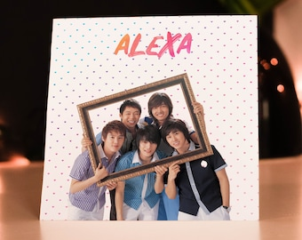Personalised TVXQ K-Pop Card