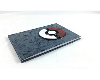 Pokemon Pokeball Journal, mixed media notebook