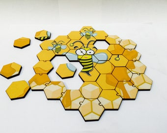 Bee Hive Puzzle