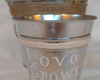 Love Grows Planter/ Vase- Medium