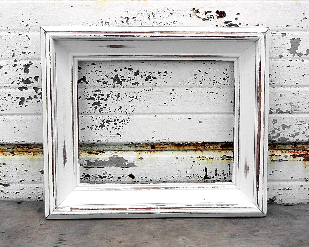 Shabby Chic White Photo Frame - Best Home Interior •