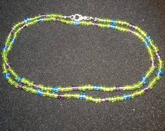 342. Stretchy Seed Bead Necklace