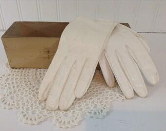 Vintage White Gloves
