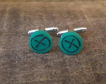 Geocaching Cuff Links