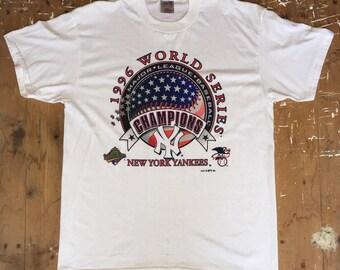 Vintage New York Yankees 1996 World Series Champions T-Shirt