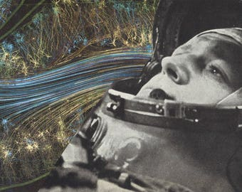 INNER SPACE // Photomontage / Postcard / Collage