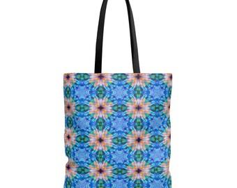 Tote Bag - Kaleidoscope Daisy