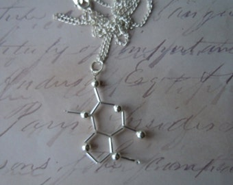 Biolojewelry - Theobromine (Chocolate) Necklace