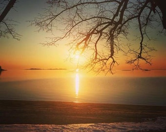 A Touch of Winter Sunrise