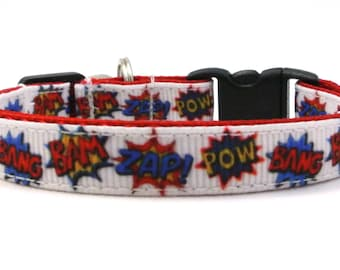The Super Hero Breakaway Cat Collar