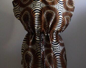 Mozambican capulana tunic