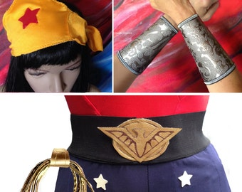 Bombshell Wonder Woman costume accessories