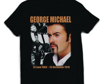 George Michael In Memoriam T shirt 1963 - 2016