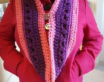 TMI Warm and Thick Infinity Scarf