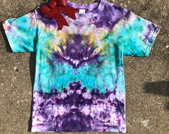 Youth Large Tie Dye T- Shirt