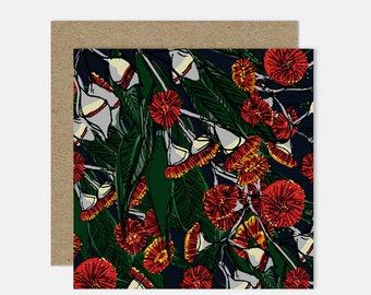 Flowering Gum / Floral Illustration Greeting Card