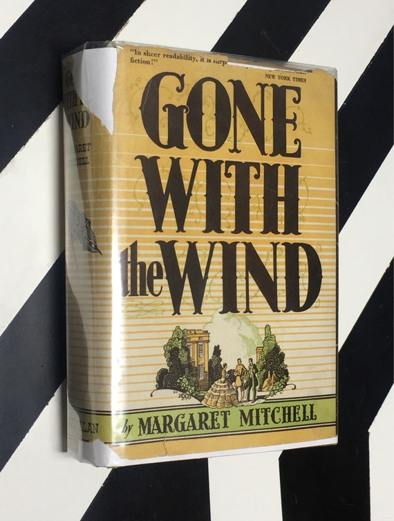 Gone with the Wind by Margaret Mitchell (1936) hardcover book