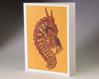 Dragon Art Card