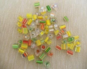 Glass Cane Beads