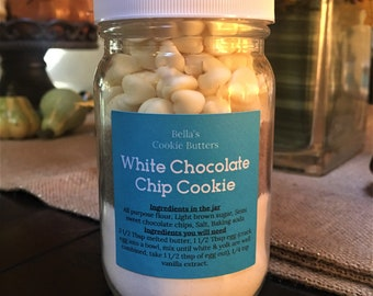 White Chocolate Chip Cookie Mix