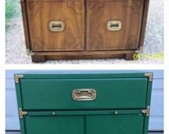 Sacramento, CA Furniture Painting - Campaign Dresser Portfolio