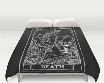 Death Tarot Card Comforter
