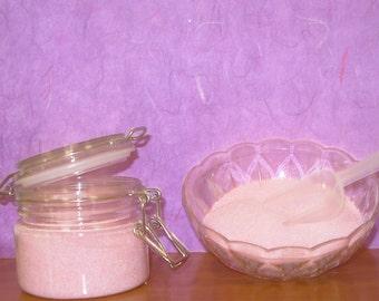 Foaming Bath and Hand Salt Scrub