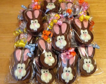 Easter Bunny  Chocolate Covered Oreos