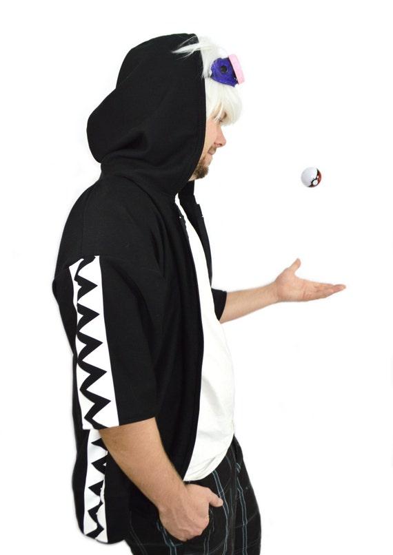 Guzma Team Skull Pokemon Cosplay Hoodie VXXk065TNs